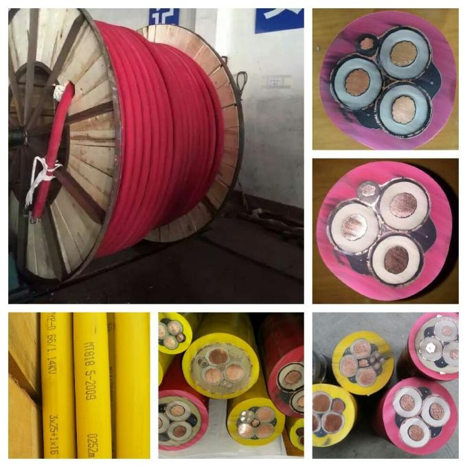 MCP Screened Rubber Sheath Cable For Excavator Power Connection