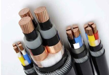Copper Conductor EPR / XLPE Insulated Power Cable SWA MV LSZH 3 Core