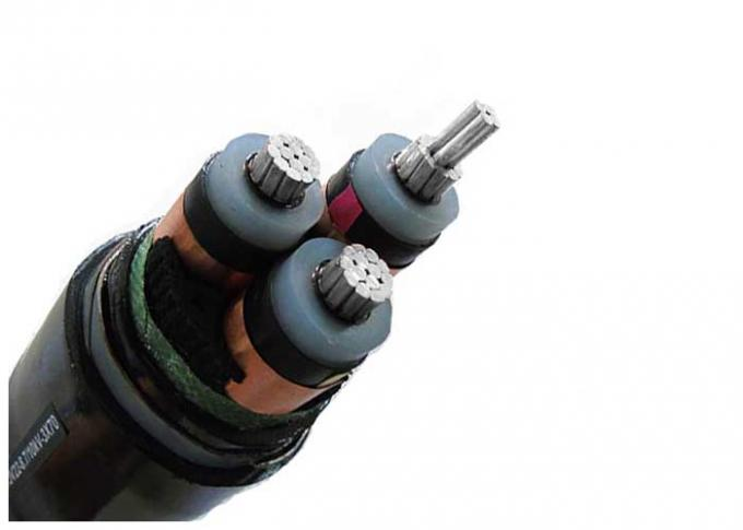 Aluminum Conductor Steel Tape Armoured Electrical Cable Three Phase XLPE Insulation