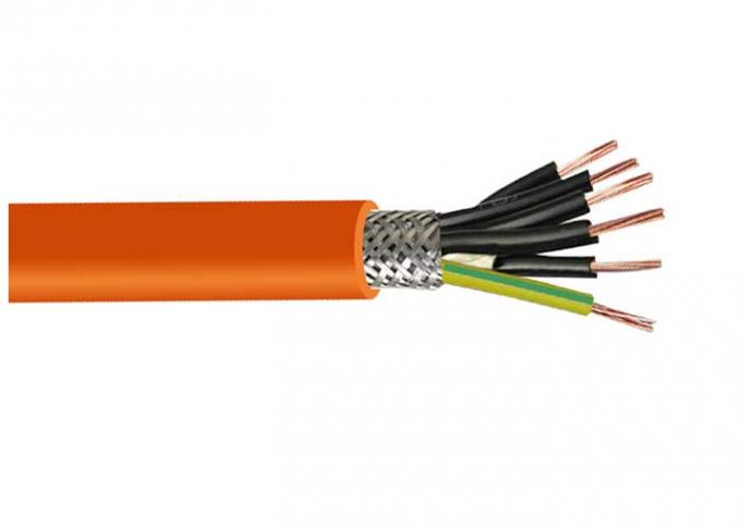0.6/1kV Low Smoke Zero Halogen Cable ROHS CE Certified CU / XLPE