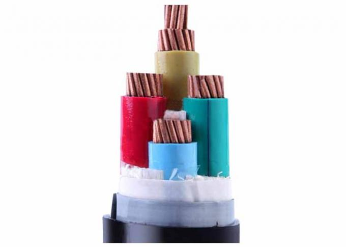 PVC Insulated Cables , 1.5mm2 - 800mm2 High Tension XLPE Power Cable Underground