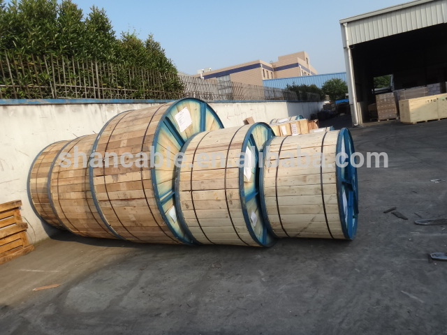 Cu /PVC control cable copper wire braiding screened flxible cable for construction