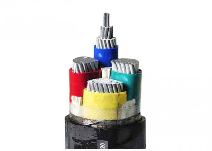 0.6/1kV Steel Tape Armoured Electrical Cable Aluminum Conductor XLPE Insulated LV Cable 3x240+1x120mm2