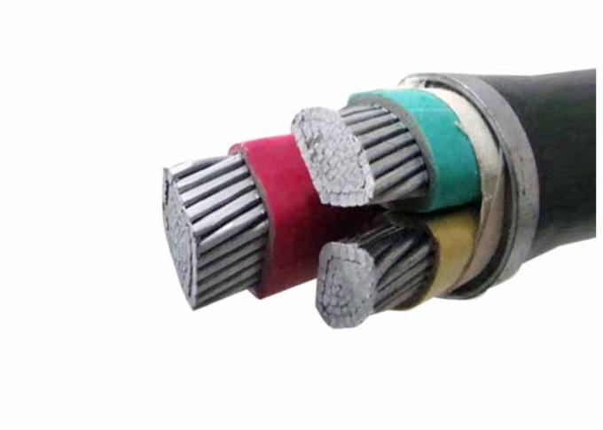 600/1000V Compacted AL Conductor PVC Insulated Cables Sheathed Power Cable
