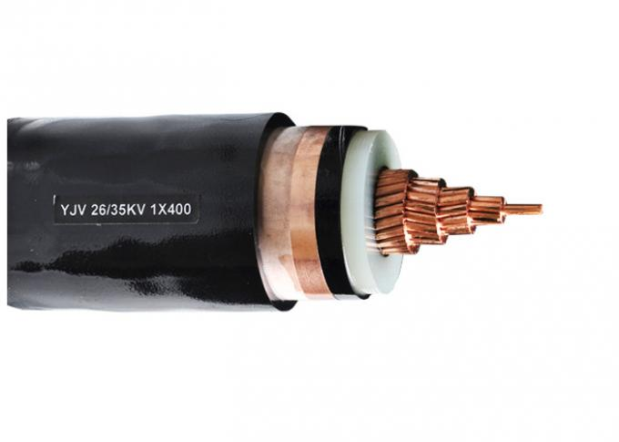Single Core XLPE Insulated Power Cable Middile Voltage Unarmoured Power Cable