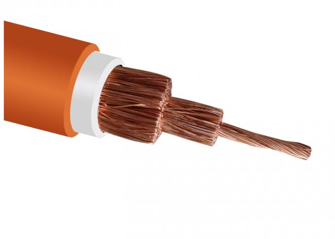 Flexible Rubber Cable 1.9 / 3.3 KV  Low Halogen Low Smoke Rubber Sheath