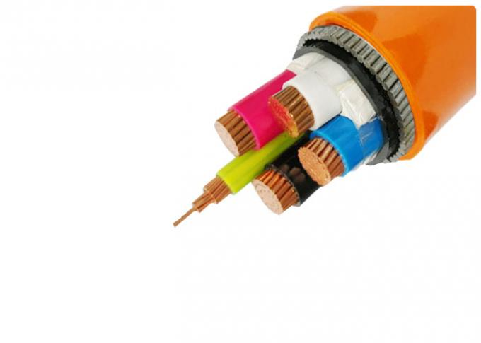 IEC 60502 Approval N2XH Low Smoke Zero Halogen Power Cable Four Cores XLPE Insulated