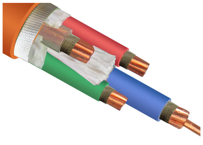 0.6 / 1 KV Fire Resistant Cable XLPE Insulation with Mica Tape IEC 60228 IEC 60332